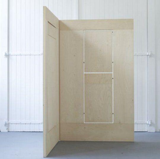 FLKS:  One Very Cool Room Divider/ Desk