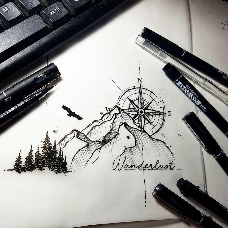 Drawing by the Brazilian artist Felipe (phil.tattoo) from Rio de Janeiro. Rose the … – #from #brasilian #de #the #des