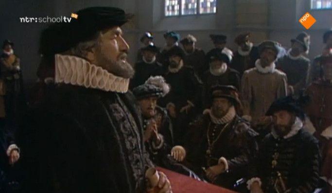 In de zestiende eeuw is er nog geen Nederlandse staat. De Nederlanden behoren tot het Spaanse rijk onder koning Filips II, die het bestuur centraliseert vanuit Madrid. Enkele stadhouders komen tegen hem in opstand en sluiten de stadspoorten. Filips stuurt troepen om deze steden te belegeren en door uithongering tot overgave te dwingen. Het beleg van Leiden is een voorbeeld van volharding van stadsbestuur en burgers. Vroeger enzo 15 minuten