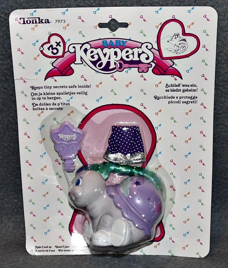 Keypers waren plastic dieren om je kleine spulletjes in op te bergen. Deze werd tussen 1987-1990 door speelgoedmaatschappij Tonka geproduceerd. Er werden 2 series uitgebracht. De eerste serie waren…