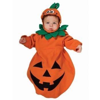 Pumpkin Infant Halloween Costumes for Boys