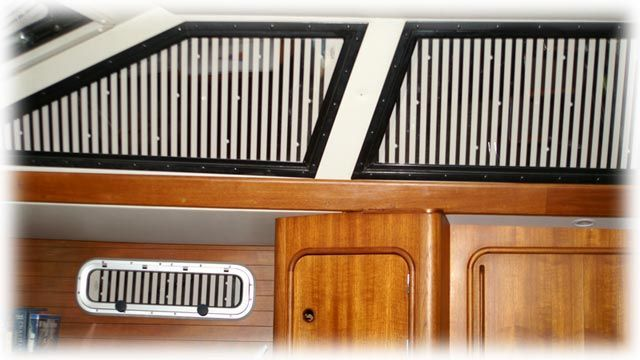 Do It Yourself Window Treatments: Sailboat Portlight Shutters, Blinds, And Window Treatments