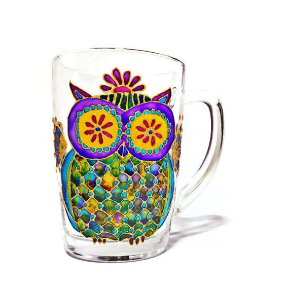 Unique coffee Mug Coffee Cup Hand painted Mug Custom Mug