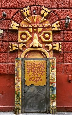 Budapest, Hungary......NOT SURE, BUT I THINK IT'S A .... DOOR ..............ccp