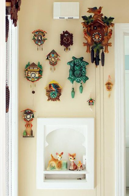 cuckoo clock collection of all sizes