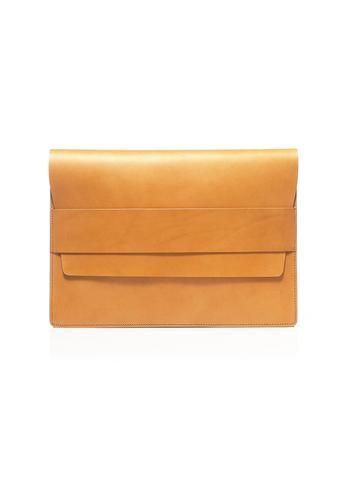 leather laptop case natural