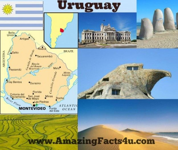 30  Amazing Facts About #Uruguay !!  Read at http://www.amazingfacts4u.com/uruguay