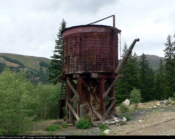 Old Train Depot And Water Tank 64