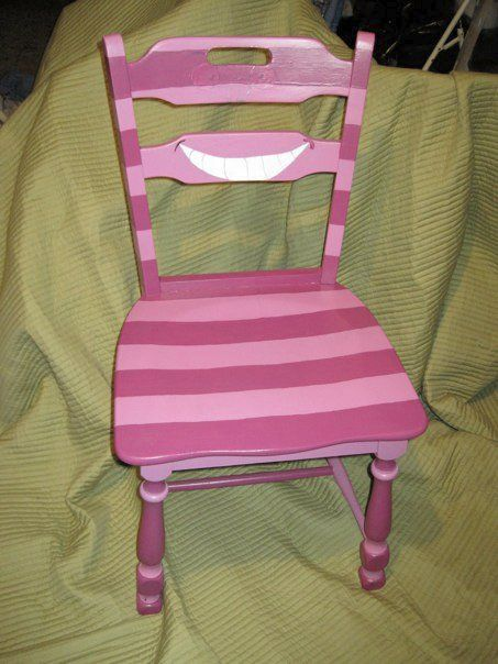 Alice in Wonderland, Cheshire cat chair.