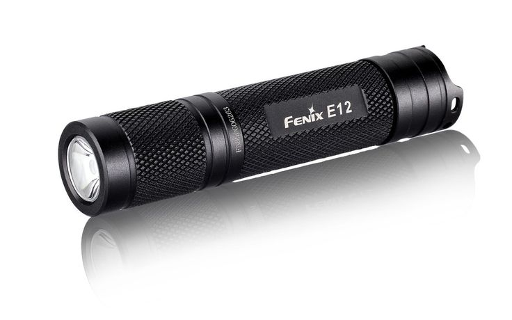 Flashlight, Fenix E12 EDC Torch, 130 Lumens, 88mtr Beam throw, lightweight and miniature.