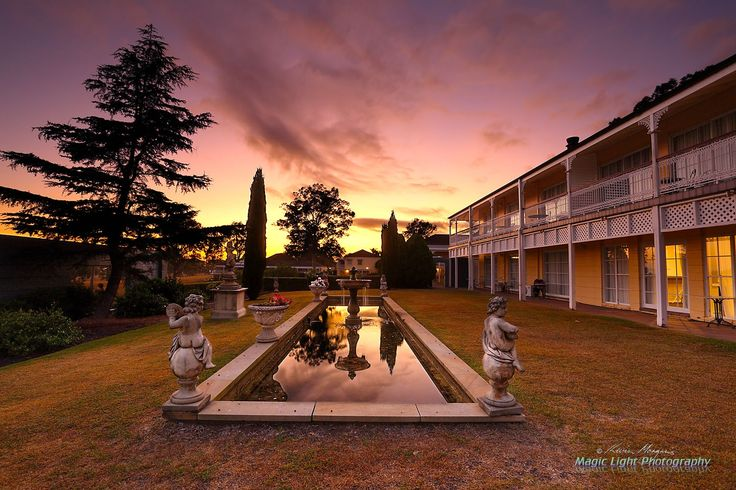 Sebel Kirkton Park Sunrise APR 2016 - Sunrise at The Sebel Kirkton Park resort in The Hunter Valley.