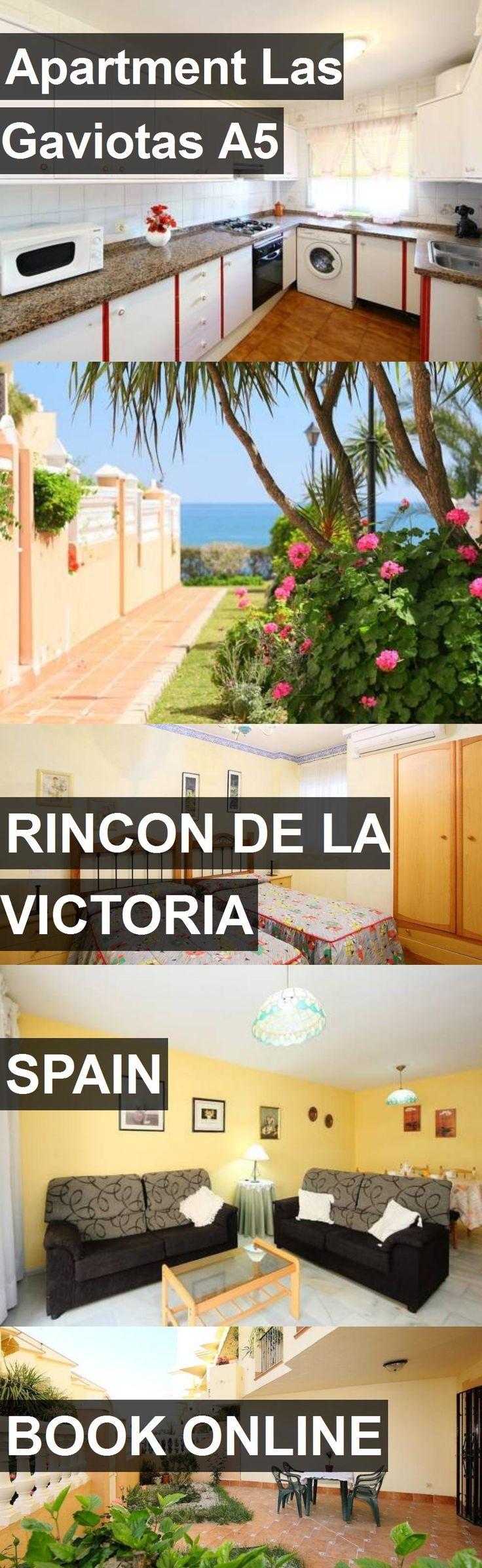 Hotel Apartment Las Gaviotas A5 in Rincon de la Victoria, Spain. For more information, photos, reviews and best prices please follow the link. #Spain #RincondelaVictoria #ApartmentLasGaviotasA5 #hotel #travel #vacation