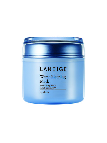Laneige Water Sleeping Mask This hydrating overnight treatment is a lazy girl's dream: Smooth it on before bed and wake up to smoother, brighter, all-around better-looking skin.
