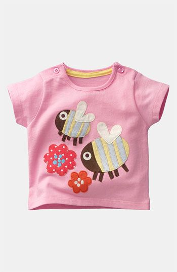 Mini Boden Appliqué Tee (Infant) available at Nordstrom