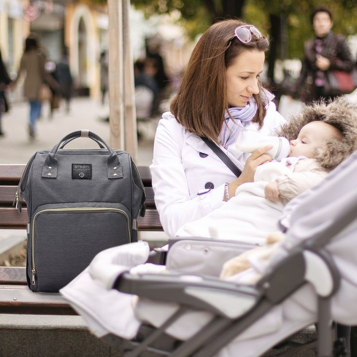 What every mom needs is a reliable diaper bag, can't leave home without it!