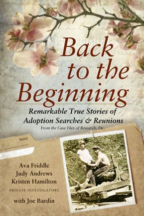 Remarkable, true, short stories of adoption searches and reunions.  A must read for anyone touched by adoption - especially those thinking of searching, actively searching or post reunion!