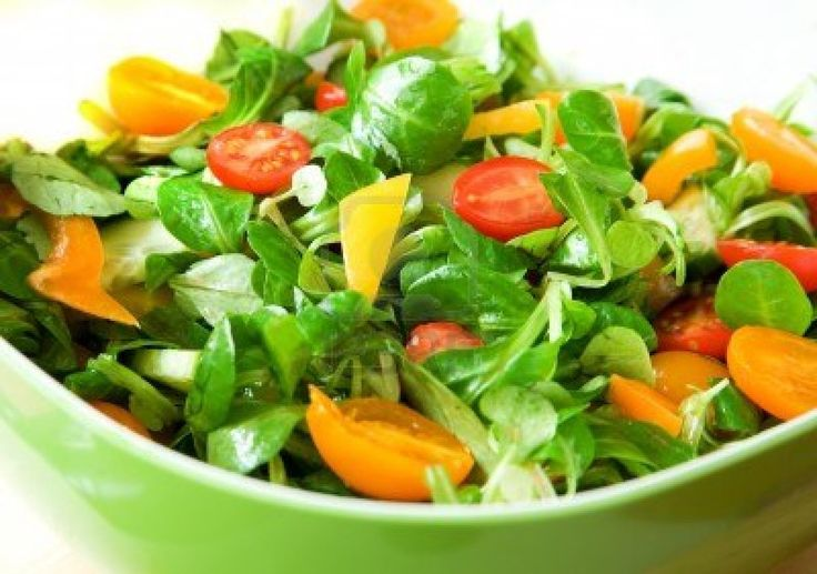 Dull veggies into colourful Salad