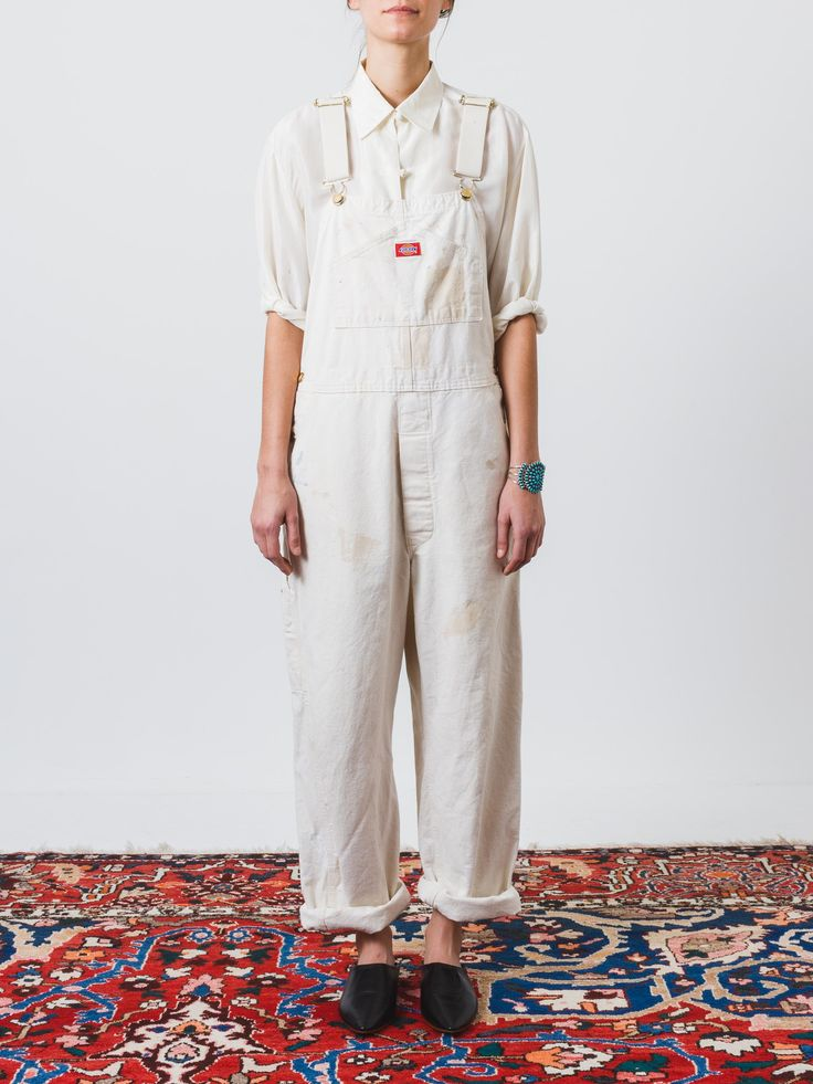Painter's White Dickies Overalls