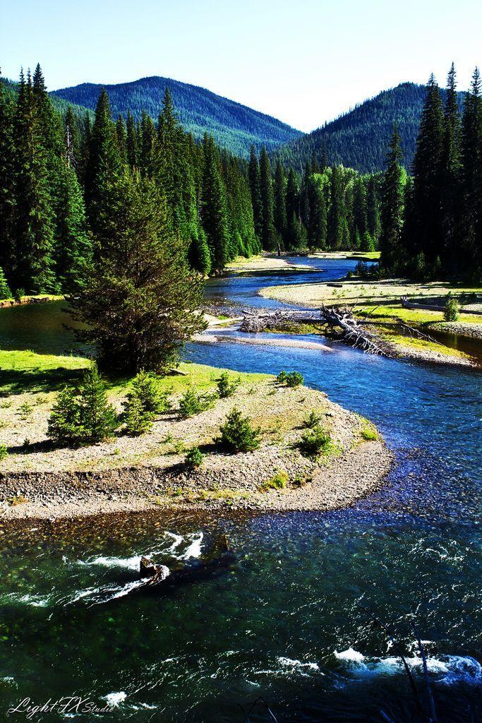 Chinook Pass, Washington, USA:
