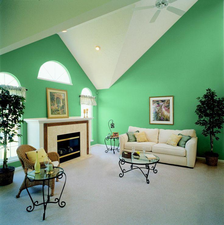 23 best Inspiración Color Verde images on Pinterest Green - schlafzimmer la vida