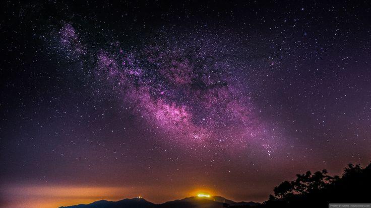 화천 광덕산 은하수  milky way, korea,a7s