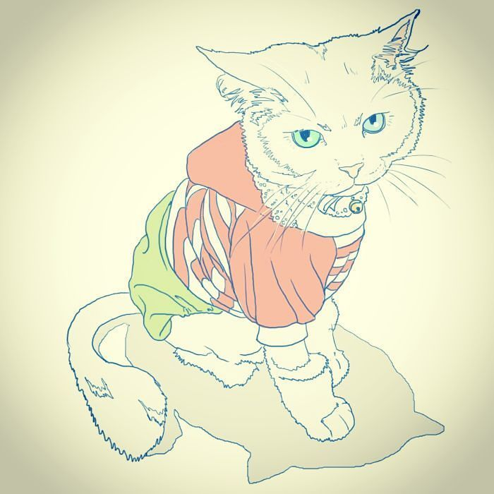 #dailydrawing #drawing #catdrawing #cat #dailydrawings #drawings #catdrawings #cats #냥그림 #냥스타그램 #캣스타그램 #catstagram #neko #고양이 #猫 #ねこ #gato #고양이그림 #instacat #하루한장#취미로고양이그리는아줌마 by 1day1cat