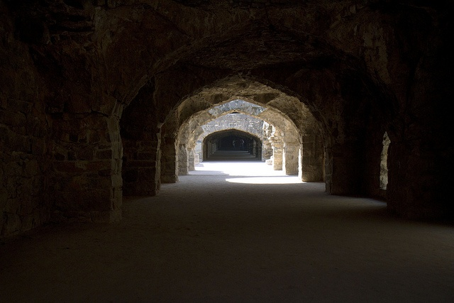 Tunnel by Nick Bruskewitz. Taking in a fort in India
