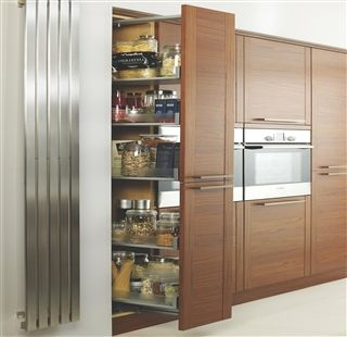 Kitchen Cabinets Pull Out Pantry Cooke Amp Lewis Kitchens 300mm Glass Pullout Larder System