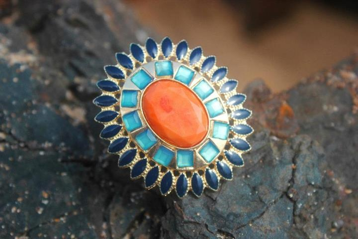 COLOR BURST RING  (SOLD OUT)    INR 1000