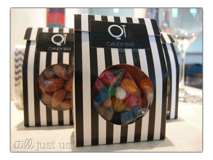 Tempting minibar sweets at the QT Gold Coast