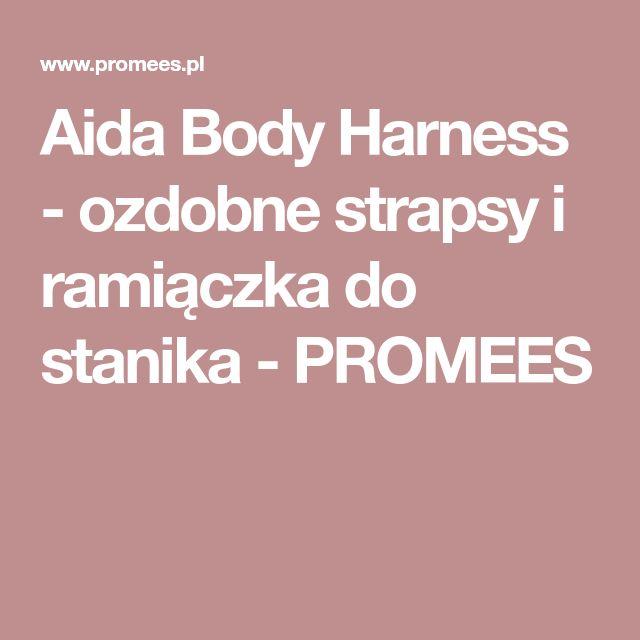 Aida Body Harness - ozdobne strapsy i ramiączka do stanika - PROMEES