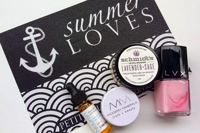 "Petit Vour | July 2014 ""Summer Loves"" Beauty Box"