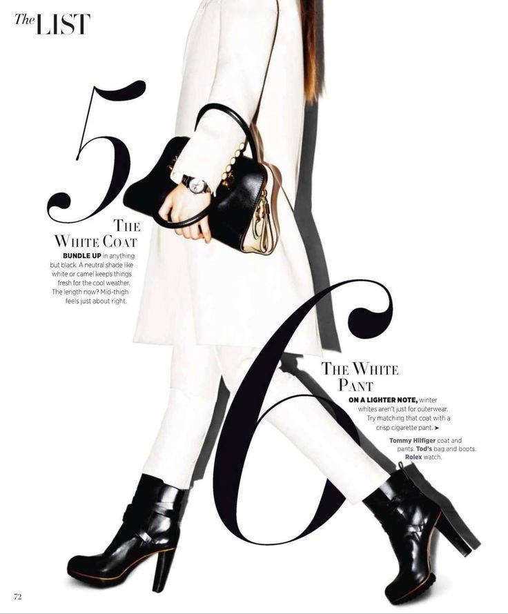 Editorial from Harper's Bazaar Magazine, August 2013