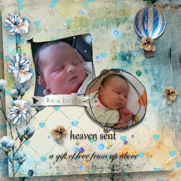 New mini-kits SPECIAL DELIVERY (1 for boys 1 for girls) by Graphic creations  https://www.e-scapeandscrap.net/boutique/index.php?main_page=index&cPath=113_298&zenid=eaf29d03257dece8ea01a005fe3749a6 http://digital-crea.fr/shop/index.php?main_page=index&cPath=155_362 Photo: my grandson Ethan