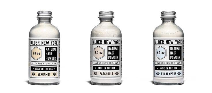 Organic Natural Dry Hair Powder by Kaufmann Mercantile