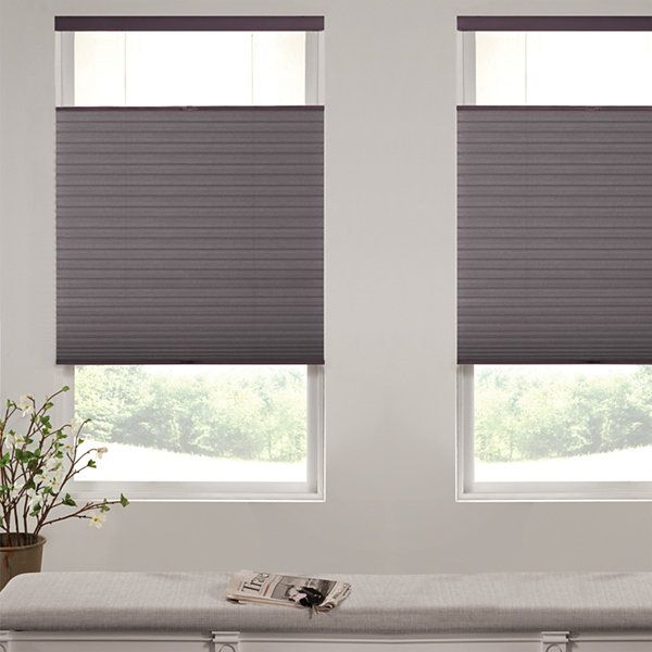 Liz Claiborne Single Cell Custom Blackout Top Down Bottom Up Cellular Shade Cellular Shades Blackout Cellular Shades Vertical Shades
