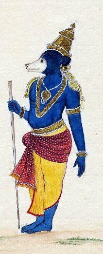 Jambavan - Wikipedia, the free encyclopedia. One of my favorite Ramayana characters: Jambavan the Bear! http://en.wikipedia.org/wiki/Jambavan