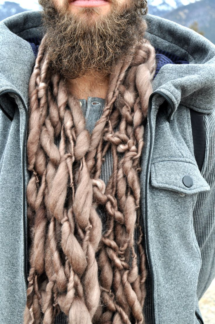 16 best Bulky Hand Knit Men's Scarves at Yospun images on ...