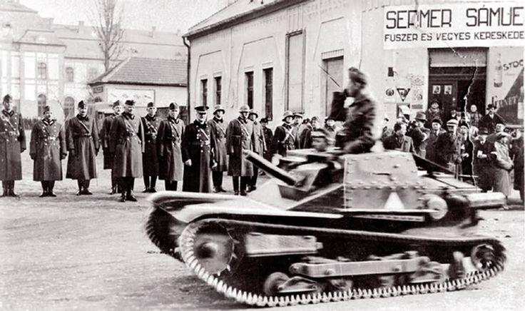 1939, a Kormányzó szemléje Kárpátalján