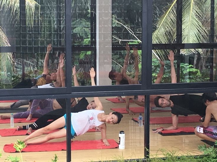 Not just yoga. Its hot. Its inferno hot pilates. Ubud yoga centre