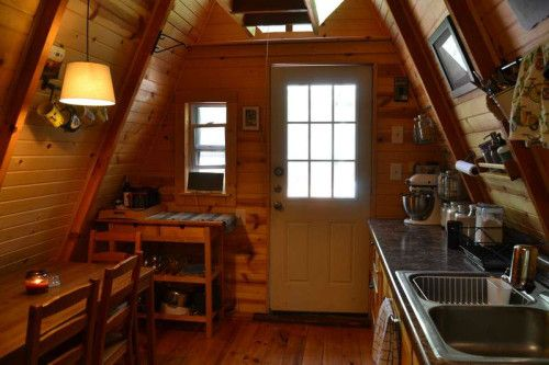 157 best images about a frame house on pinterest cabin for A frame interior