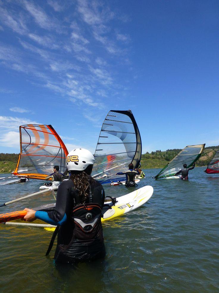 Tumblr - 2da Regata Amigos del Windsurf #Wind #Friends #Nature #Chile #LosCisnes #Windsurf&Sup