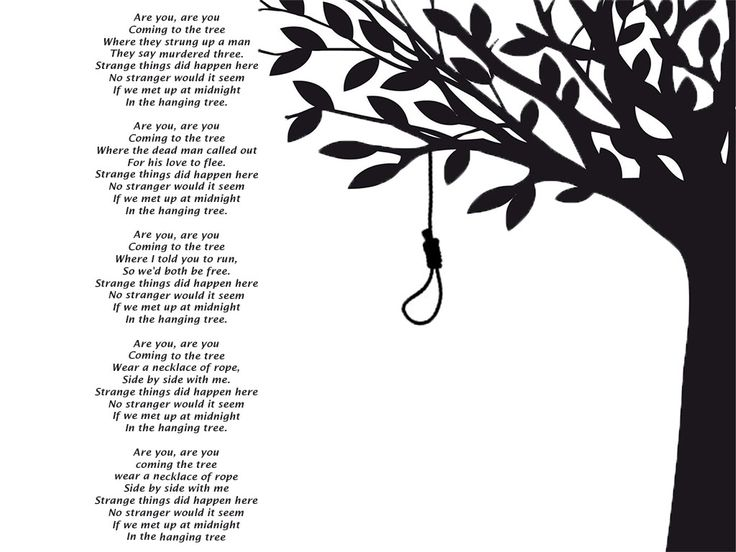 The hanging tree lyrics this is one of my favorite songs ever more