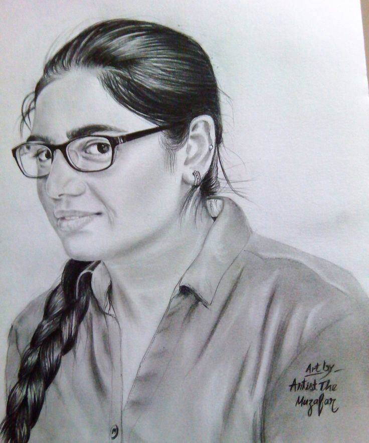 nidhi bhau sketch by artist the muzafar