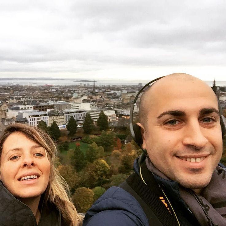 Torre di vedetta al Castello di Edimburgo.. #edimburgo #edimburghcastle #castle #trip #travelinuk #scotland #unitedkingdom by st88f