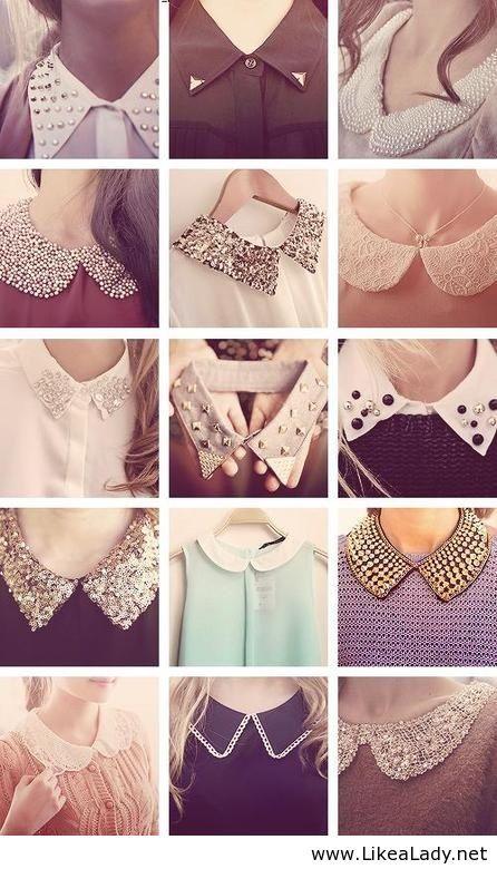peter pan collars, love it. Reminds me of Kate Middleton