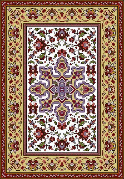 Tapis Arabesques - Reflets de Soie