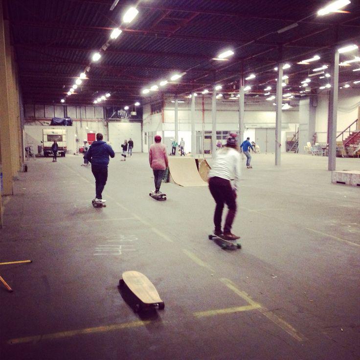 Indoor BMX skate en longboarden  @ our longnights indoor edition