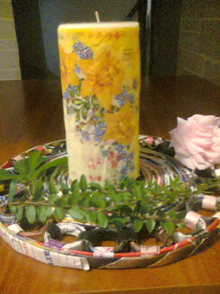 Adriana  Hobby: Bricolaj -  decoraţiune tip farfurie
