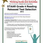 This classroom tested product includes the complete analysis for the STAAR released test selection: A Dessert with a Long History. It is released a...